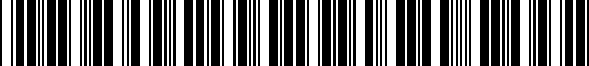 Barcode for PT90848H0W02